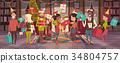 christmas, vector, xmas 34804757
