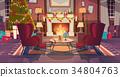christmas, concept, interior 34804763