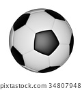 soccer ball isolated on white background 34807948