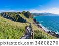 《北海道》神威岬・自然風景 34808270