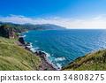 《北海道》神威岬・自然風景 34808275