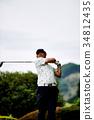 高爾夫 高爾夫球手 運動 34812435