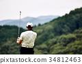 高爾夫 高爾夫球手 運動 34812463