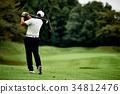 高尔夫 高尔夫球手 高尔夫球场 34812476