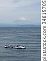 富士山 個人水上設備 海 34815705