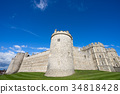 ปราสาท,อังกฤษ,ท้องฟ้าเป็นสีฟ้า 34818428