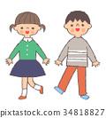Two children 34818827