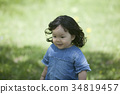 girl, 2-years-old, child 34819457