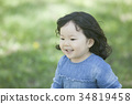 girl, 2-years-old, child 34819458