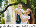 mother with son 34819520