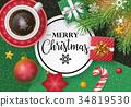 Christmas banner design 34819530