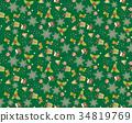 christmas pattern seamless 34819769