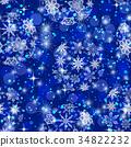 Christmas Seamless Background 34822232