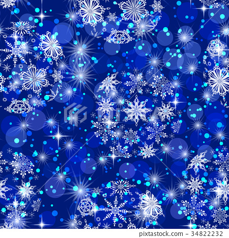 Christmas Seamless Background 34822232