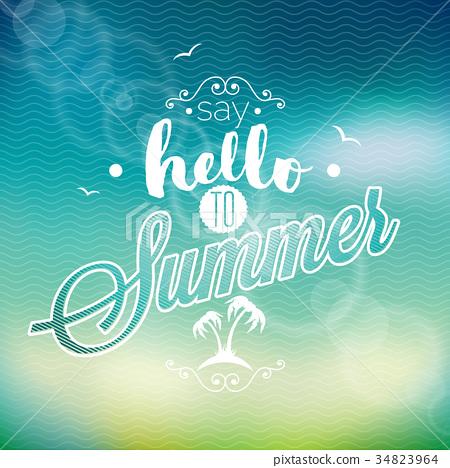 Hello Summer inspiration quote 34823964