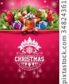 holiday vector illustration 34824361