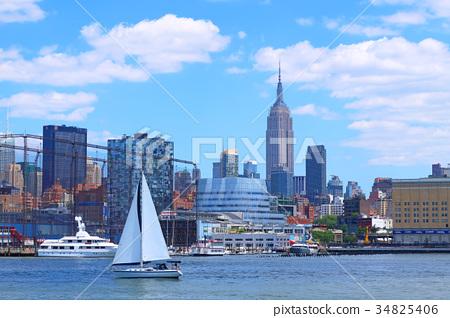 紐約 曼哈頓 城市風光 34825406