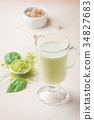 Green tea matcha latte 34827683