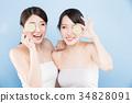 女性 女 水果 34828091