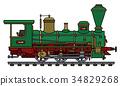 locomotive, vintage, steam 34829268