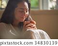 婦女生活方式放鬆 34830139