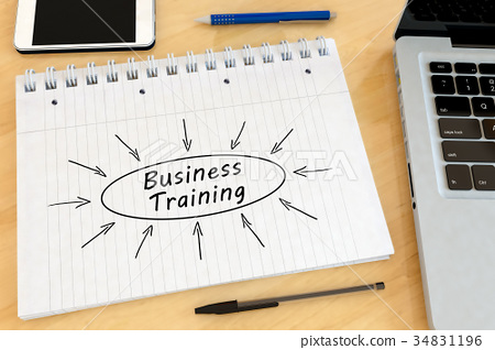 Business Training text concept 34831196