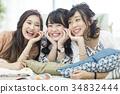 female, females, lady 34832444