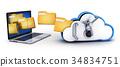 便攜電腦 電腦 筆記本電腦 34834751
