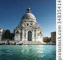 Basilica Santa Maria della Salute, Venice, Italy 34835414