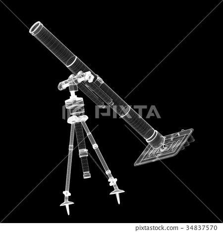 Mortar mobile gun 34837570
