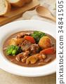燉牛肉 燉湯 食物 34841505