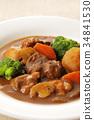 燉牛肉 燉湯 食物 34841530