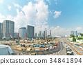 building site, scene, scenery 34841894