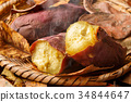 baked sweet potato, roasted sweet potato, potato 34844647