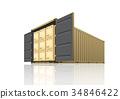 货物 容器 货运 34846422