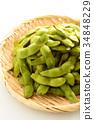 edamame, bean, beans 34848229