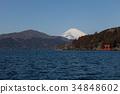 來自蘆之湖的富士山 34848602