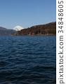 來自蘆之湖的富士山 34848605