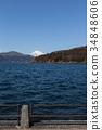 從蘆之湖看到的富士山 34848606