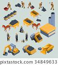 mine, quarry, worker 34849633