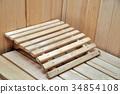 Element of private sauna 34854108