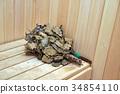 Element of private sauna 34854110