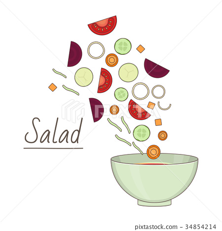 Food preparation theme 34854214