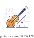 音符 经典的 音乐 34854479