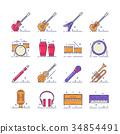 音乐 矢量 矢量图 34854491