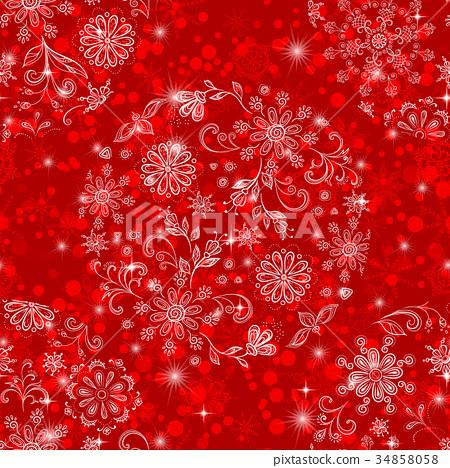 Christmas Seamless Background 34858058
