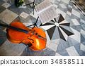 Viola and score 34858511