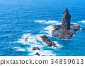《北海道》神威岬・自然風景 34859613