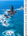 《北海道》神威岬・自然風景 34859616