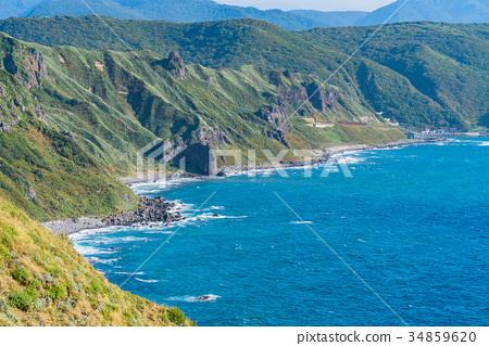 神威岬 海 大海 34859620